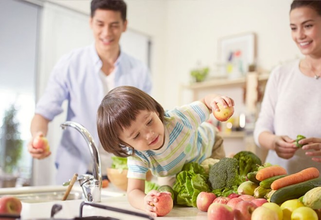 Food safety parents responsibility